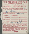 Click to select: 1945 Red Cross War Fund Receipt