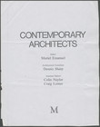 Click to select: Contemporary Architects (excerpt on Breuer)