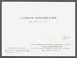 Click to select: Business card for Junzo Sakakura