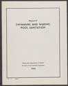 Click to select: Manual of Swimming and Wading Pool Sanitation