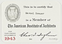 Click to select: AIA Membership Card