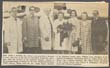 Click to select: Newspaper Clipping - Photo of Mrs. Arch A. Moore, Jr. enroute to groundbreaking ceremony