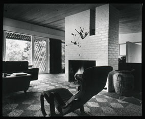 Click to select: Living Room with Calder Sculpture