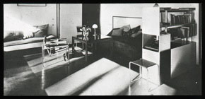 Click to select: Moholy-Nagy House, Living Room