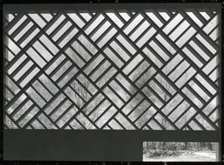 Click to select: Diagonally Patterned Concrete Screen