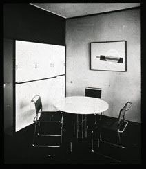 Click to select: Moholy-Nagy House. Dining Room