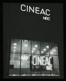 Click to select: View of Cineac Entrance
