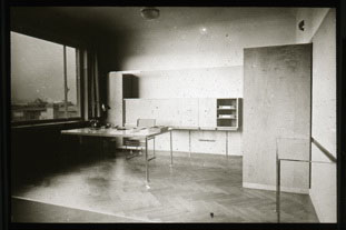 Click to select: Mainz, 1929. Desk and Storage Units