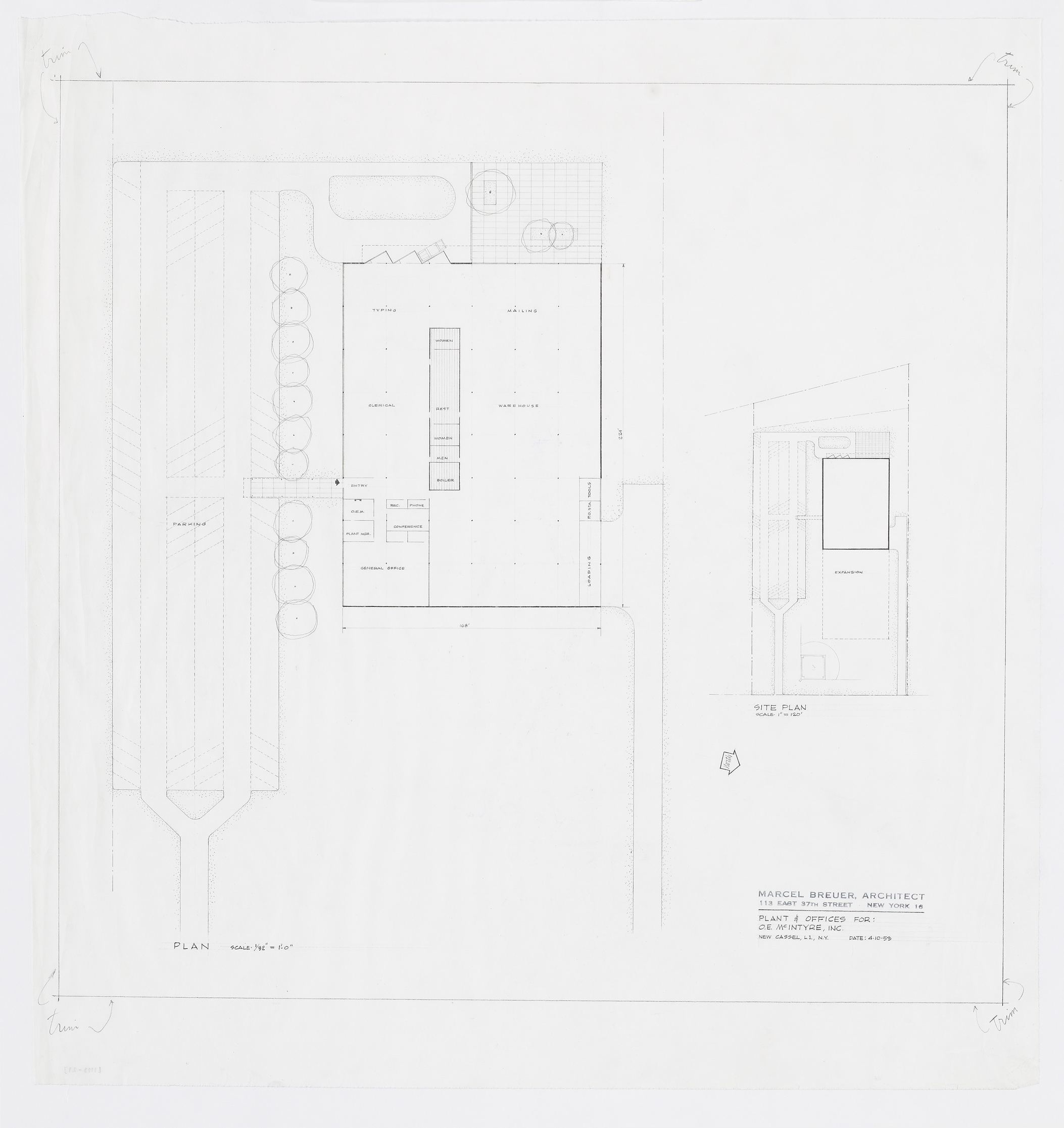 Click to select: Plan and Site Plan