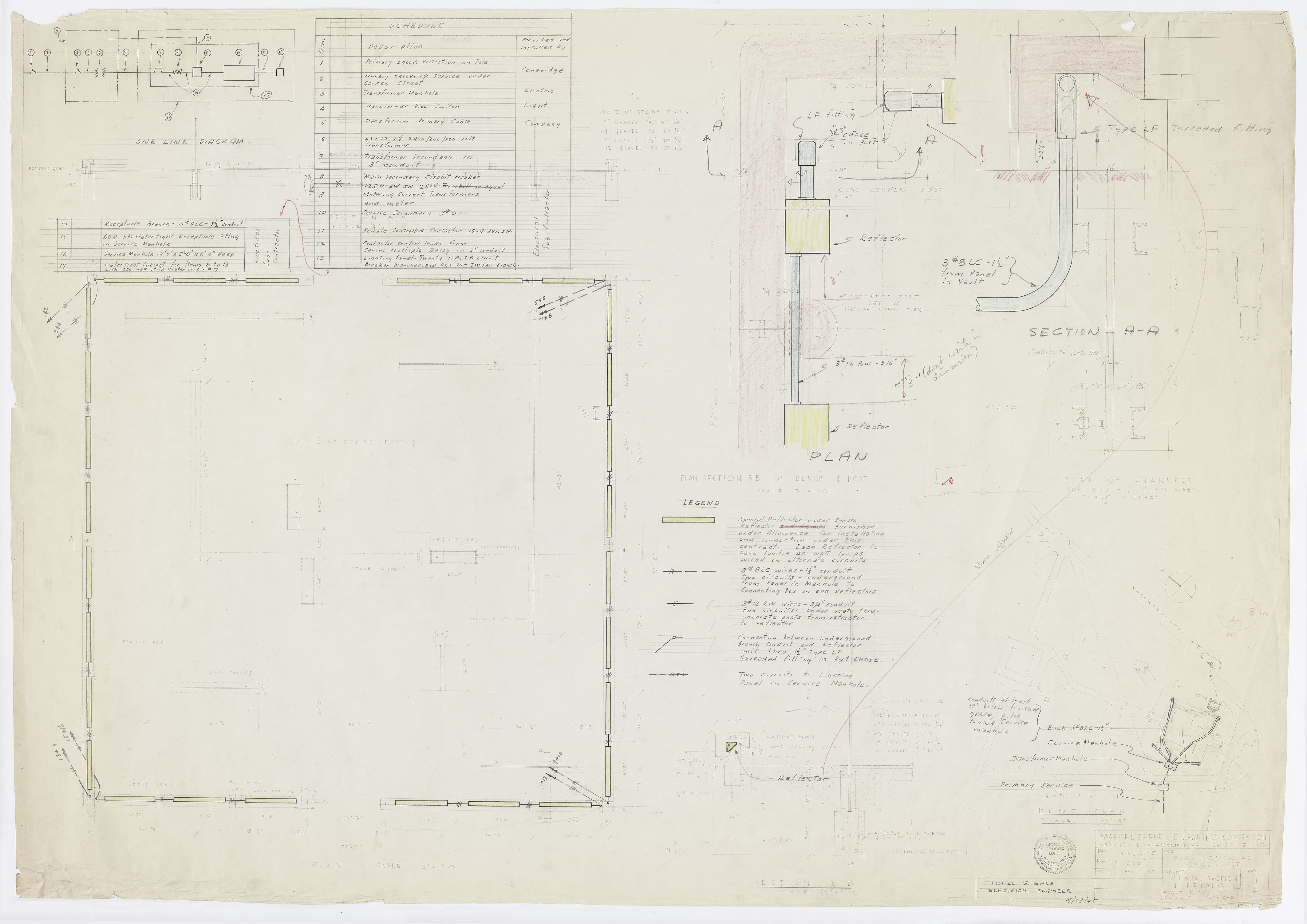 Click to select: Electrical plan