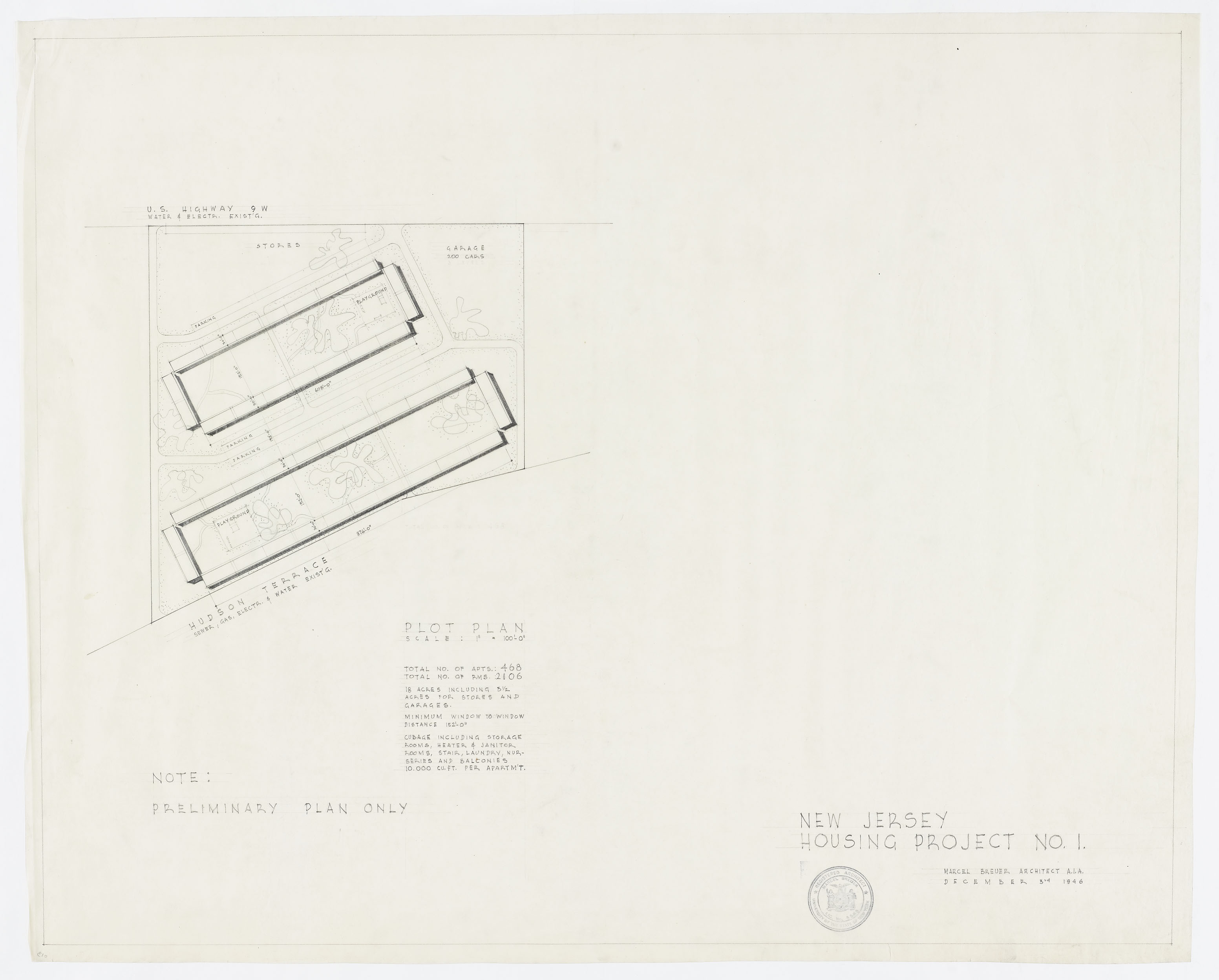 Duplex-Apartment Complex Project Type: Residential Years:1945-1945
