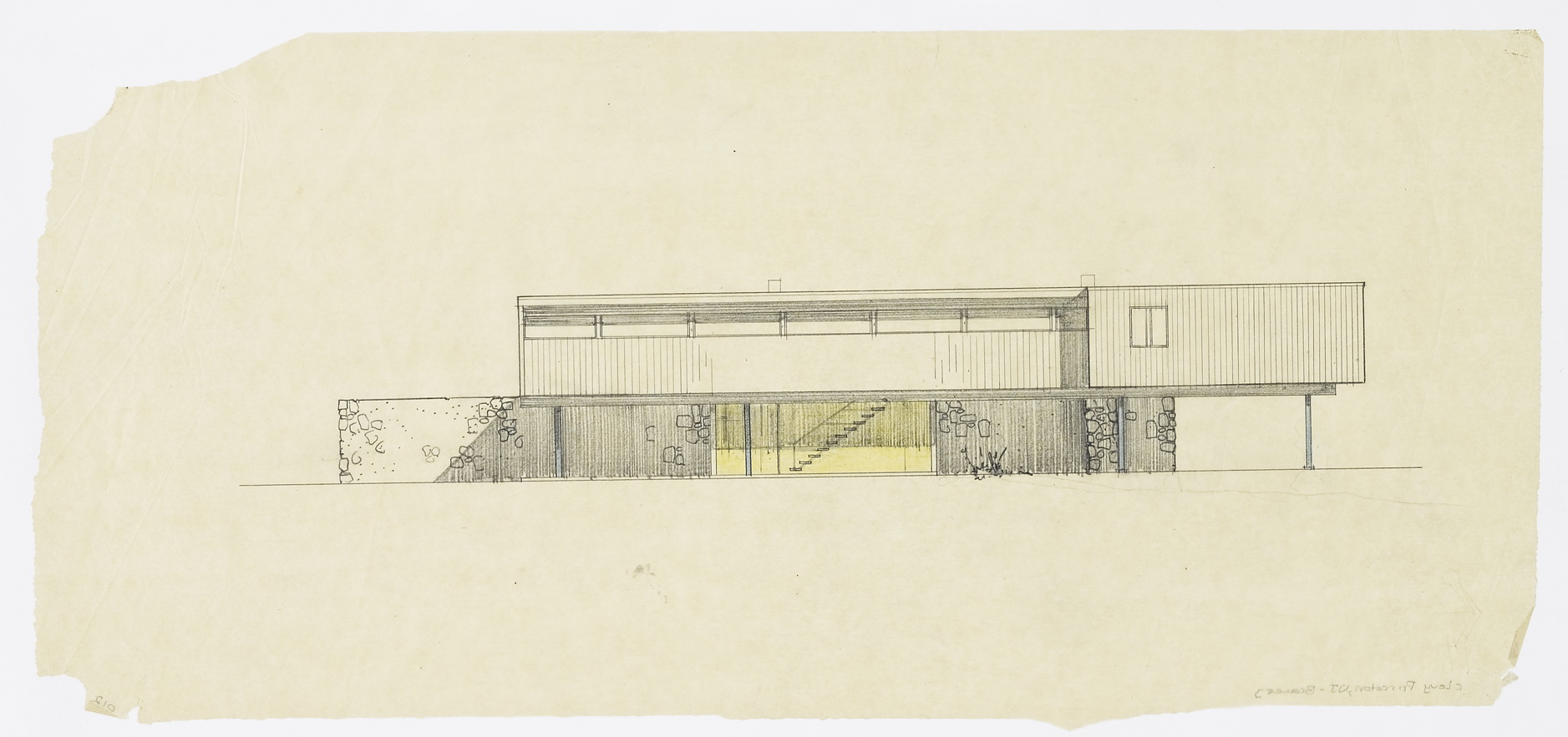 Click to select: West Elevation, Study