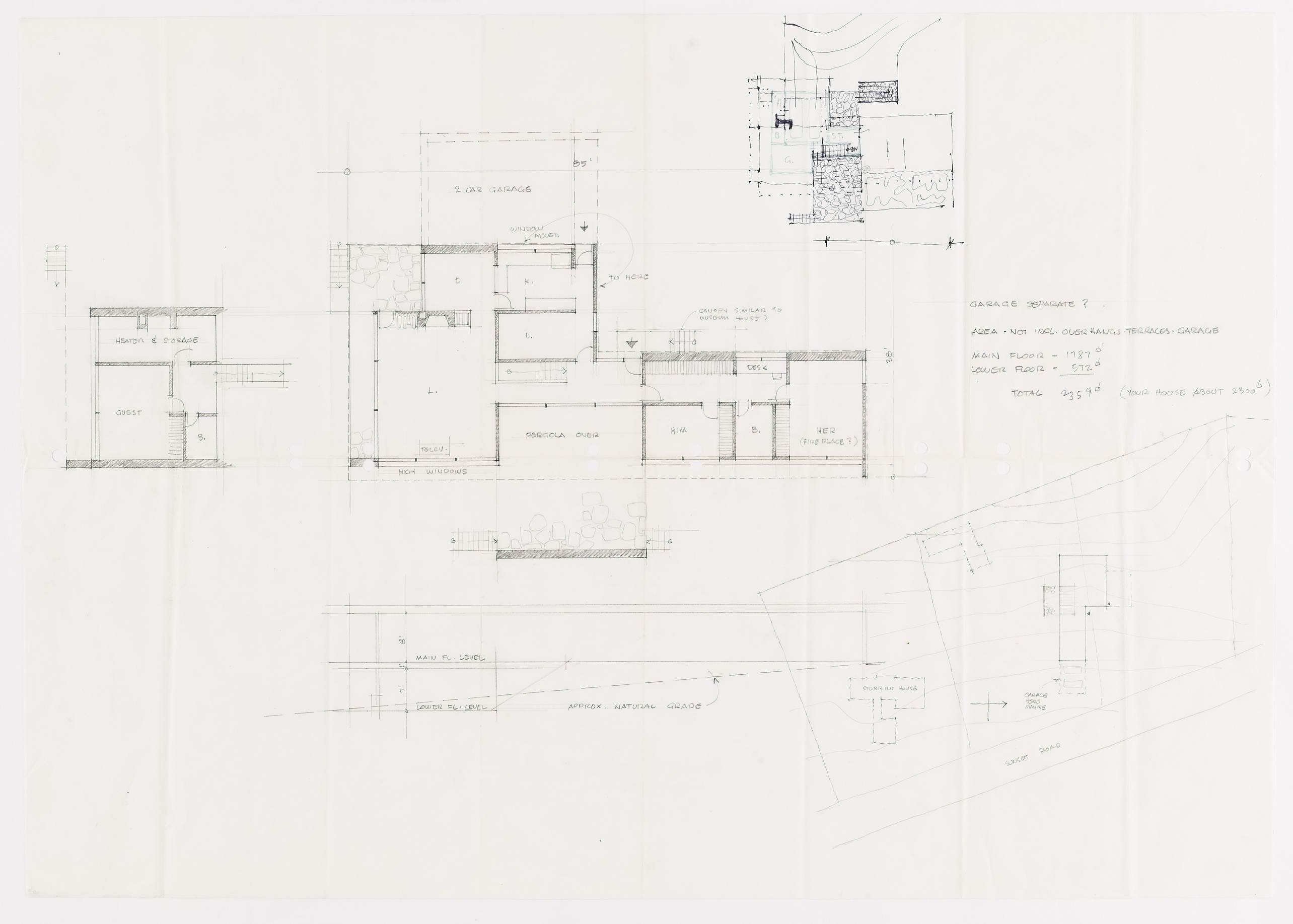 Click to select: Plans and Site Plan (preliminary drawing)