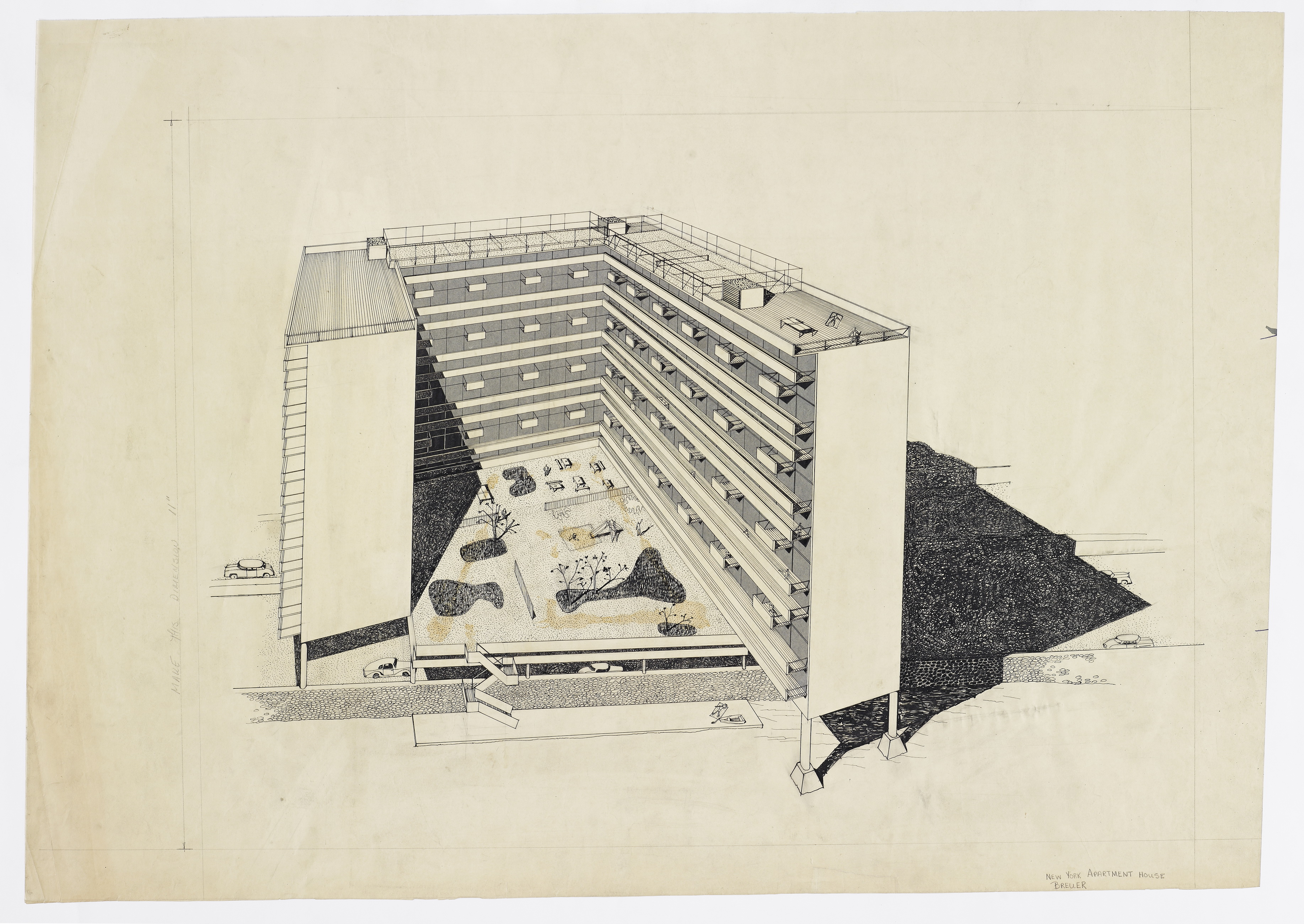 Chase brass and copper company addition turner construction company - Apartment House New York Project Type Residential Years 1945 1945