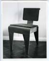 Click to select: Isokon Dining Chair, Revised Version with Upholstery